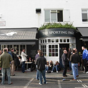 The Sporting Page pub