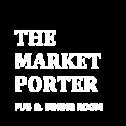 THE MARKET PORTER logo white